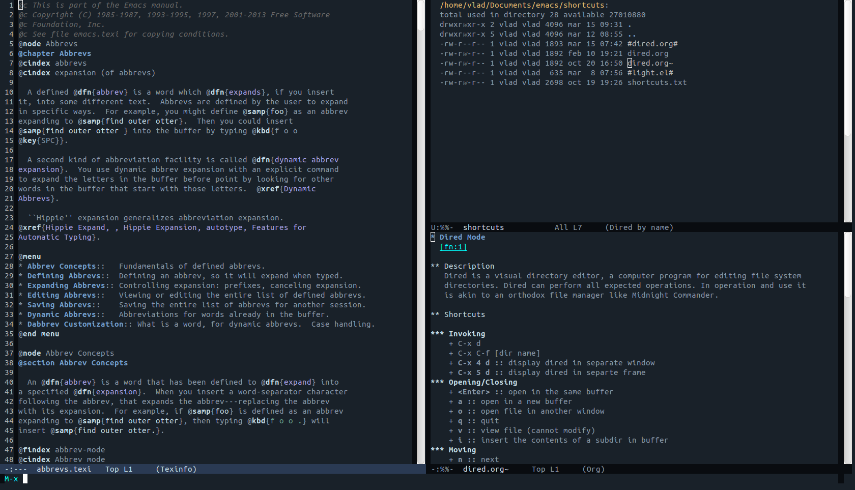 Themes cho gmail - Emacs Screenshot Emacs Screenshot