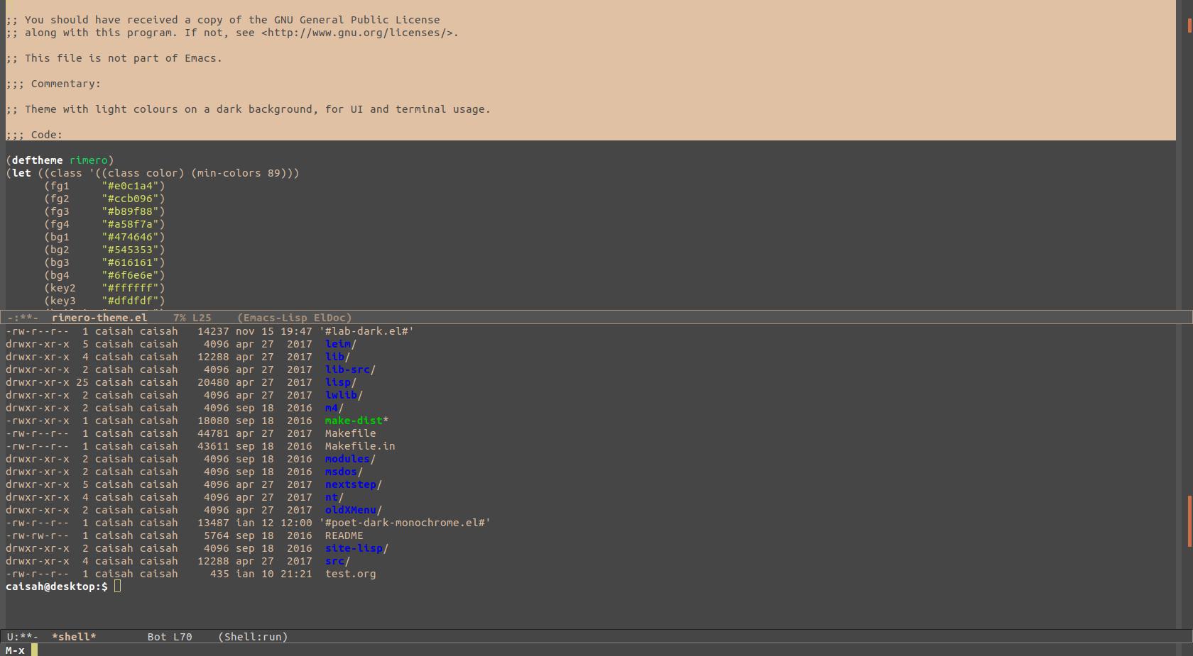 Rimero Theme | Emacs Themes