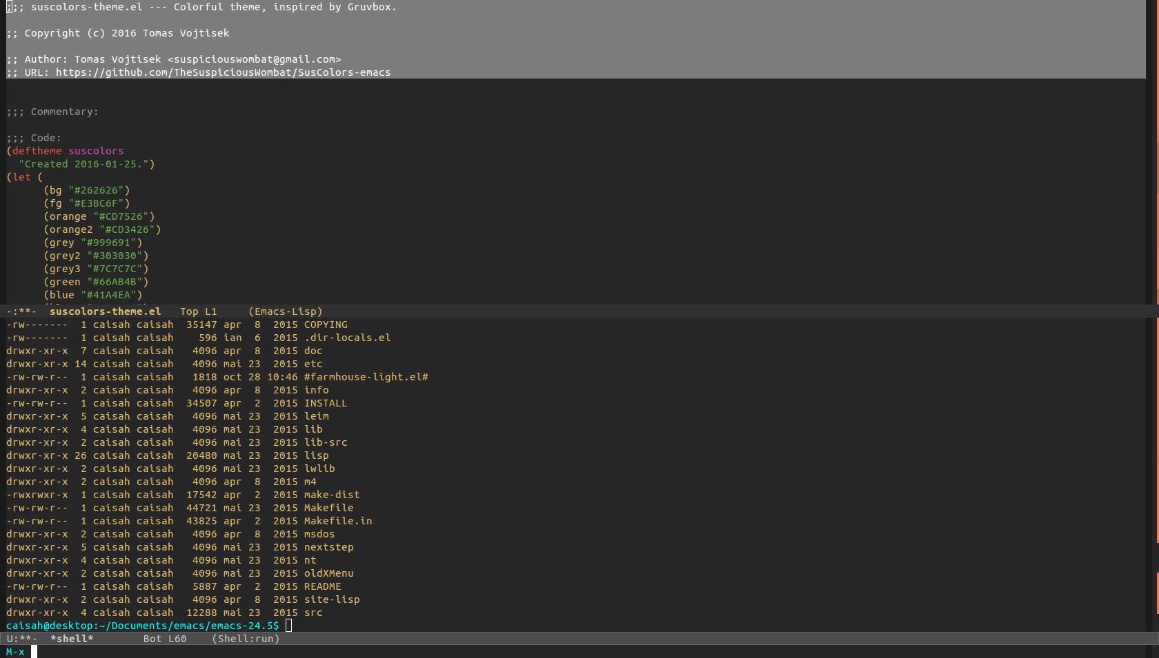 Gmail theme size - Emacs Screenshot Emacs Screenshot
