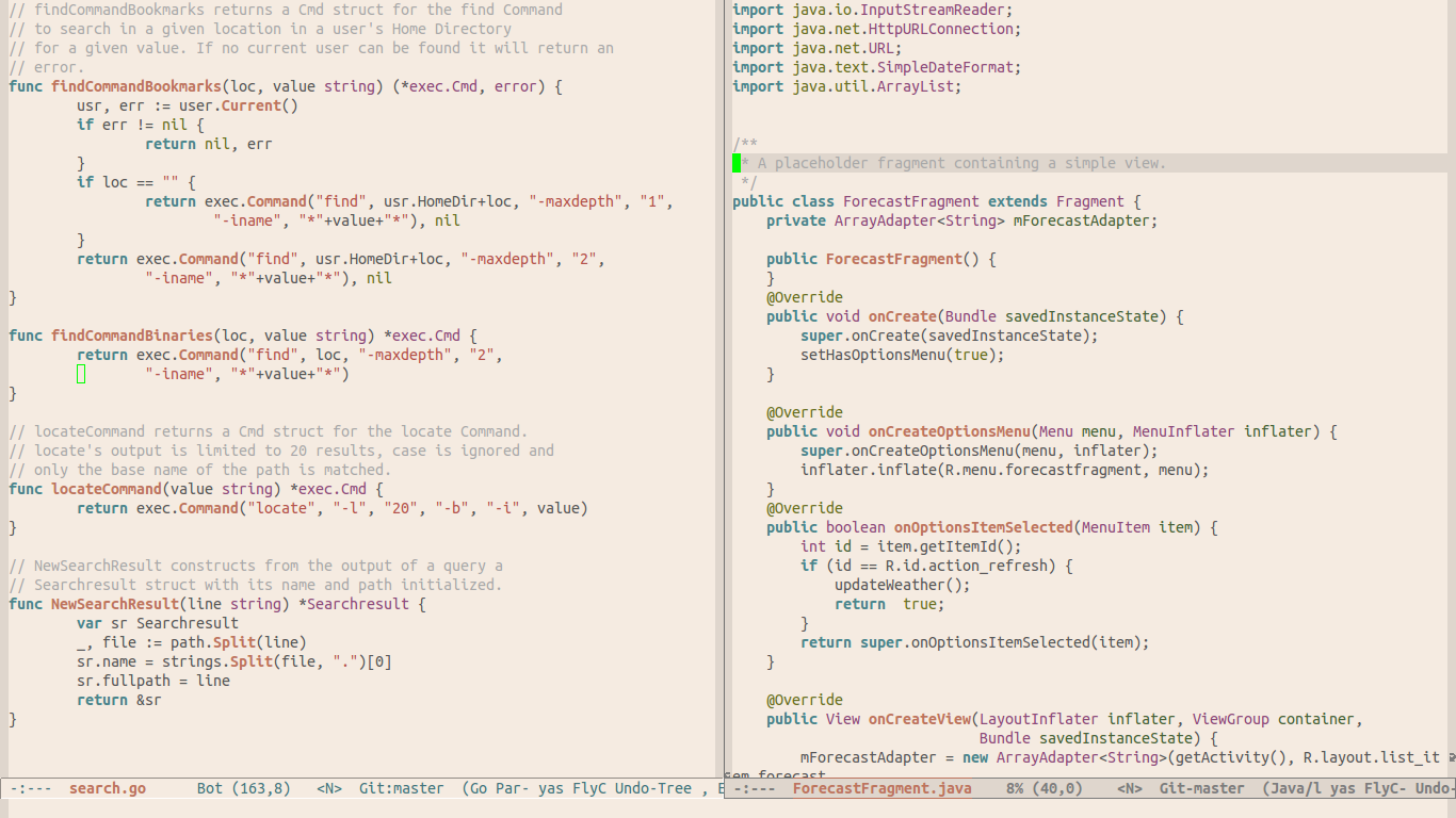 White Sand Theme | Emacs Themes