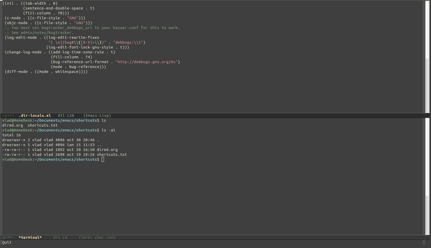 Zenburn Theme   Emacs Themes